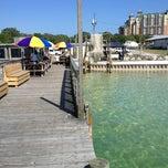 Photo taken at Dewey Destin's Seafood & Restaurant by Sarah S. on 5/17/2013