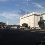 Photo taken at Markas Besar Tentara Nasional Indonesia (MABES TNI) by Iswara A. on 4/22/2015