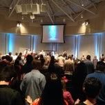 Photo taken at World Prayer Center by Jon P. on 1/13/2014