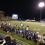 Photo taken at North Forsyth Football Stadium by Mike E. on 11/9/2013