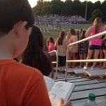 Photo taken at North Forsyth Football Stadium by Mike E. on 8/16/2014