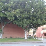 Photo taken at USC Tram Stop - Downey Way & Watt Way by S. F. on 3/1/2013