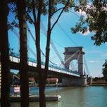 Photo taken at Pont du Port à l'Anglais by ZL G. on 6/2/2013