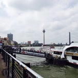 Photo taken at Düsseldorf by Pauline W. on 5/24/2015