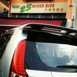 Photo taken at Restoran Mixed Rice 23 by Naomi Y. on 11/17/2014