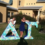 Photo taken at Delta Gamma House ;) by Cady B. on 1/17/2014