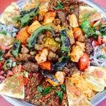 Photo taken at Kervan Kebap by Orhan B. on 9/18/2014