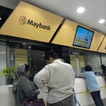 Photo taken at Maybank by Hafiz H. on 1/15/2014