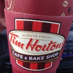 Photo taken at Tim Hortons by Dina L. on 10/3/2013