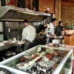 Photo taken at Budaörsi Halpiac - The Fishmonger by forest on 12/20/2012