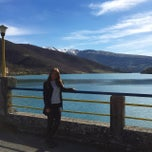 Photo taken at Lago di Fiastra by Ирина К. on 3/29/2015