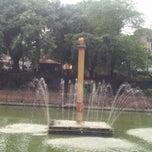 Photo taken at Nagpokhari by Aman N. on 7/12/2014