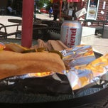 Photo taken at T.J.'s Dawg House by Dan S. on 8/6/2014