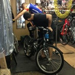 Photo taken at Champion Bicycles by Leslie C. on 6/9/2013