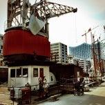 Photo taken at Harry's Hamburger Hafenbasar by Captain O. on 4/11/2015