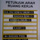 Photo taken at Kantor Pusat PT. (Persero) Kawasan Berikat Nusantara by Guruh N. on 1/29/2015