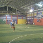 Photo taken at Arrayan Futsal by Guruh N. on 10/9/2013