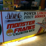 Photo taken at Monster Franks by ahlyzza b. on 9/24/2012