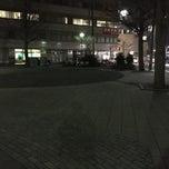 Photo taken at 大手公園 by クロネコ 2. on 3/4/2015