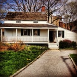 Photo taken at Edgar Allan Poe Cottage by Andre L. on 4/20/2013