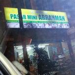 Photo taken at Pasar Mini Arrahman by Wan L. on 1/28/2013