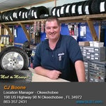 Photo taken at St. Lucie Battery & Tire - Okeechobee by St. Lucie Battery & Tire - Okeechobee on 2/27/2014