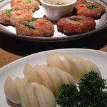 Photo taken at 大邱家 by Jina P. on 4/16/2014