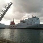 Photo taken at Pont de Bizerte by Samiremork on 11/16/2012
