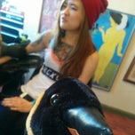 Photo taken at Monocle Tattoo by Phillip V. on 11/26/2014