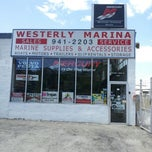 Photo taken at Westerly Marina by Will S. on 6/15/2012