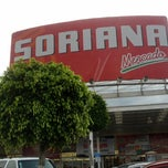 Photo taken at Soriana Valle de Chalco by Angel L. on 8/22/2012