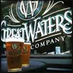 Photo taken at Great Waters Restaurant And Brewing Co. by Leigh L. on 6/23/2012