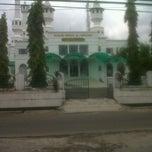 Photo taken at Masjid Agung Sagalaherang by sanusi I. on 4/9/2012