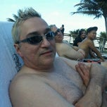 Photo taken at Poolside @ Carlton Hotel by Ed L. on 5/2/2012
