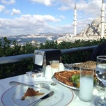 Photo taken at Hamdi Restaurant by Agah A. on 9/3/2012