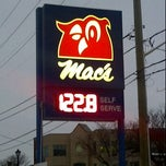 Photo taken at Macs Milk Gas Bar by Peter S. on 2/15/2012