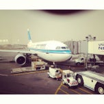 Photo taken at Kuwait International Airport (KWI) | مطار الكويت الدولي by Yousef H. on 4/10/2013