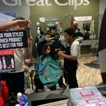 Photo taken at Great Clips by Rolando R. on 8/17/2014