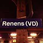 Photo taken at Gare de Renens by Frédéric R. on 12/27/2012