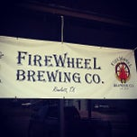 Photo taken at Firewheel Brewing Co. by Adam R. on 7/6/2013