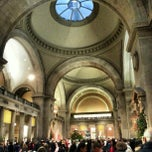 Photo taken at The Great Hall at The Metropolitan Museum of Art by Gurjeet S. on 12/2/2012