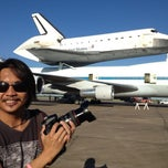 Photo taken at NASA Hangar 990 at EFD by Coolearth S. on 9/19/2012