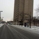 Photo taken at MBTA 39 Bus @ Prudential by Chris R. on 1/15/2014