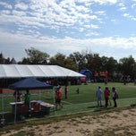 Photo taken at Tubman Elementary School Soccer Field by Kial S. on 10/6/2012