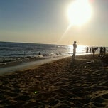 Photo taken at Playa Chihuahua by Rafael D. on 12/30/2012