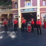 Photo taken at Disneyland Fire Department No. 1 by Adam S. on 3/3/2013
