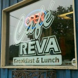 Photo taken at Cafe Reva by R. A. on 9/1/2013