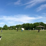 Photo taken at Lyon Oaks Bark Park by Toshi ⚾. on 5/25/2013