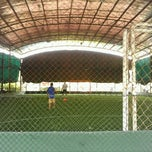 Photo taken at Futsal Galuh Mas by Papua Y. on 9/30/2012