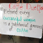 Photo taken at Cafe Duetto by Jessica S. on 7/27/2013